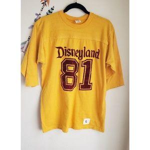 Disneyland varsity T shirt
